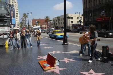 Hollywood Boulevard and Walk of Fame