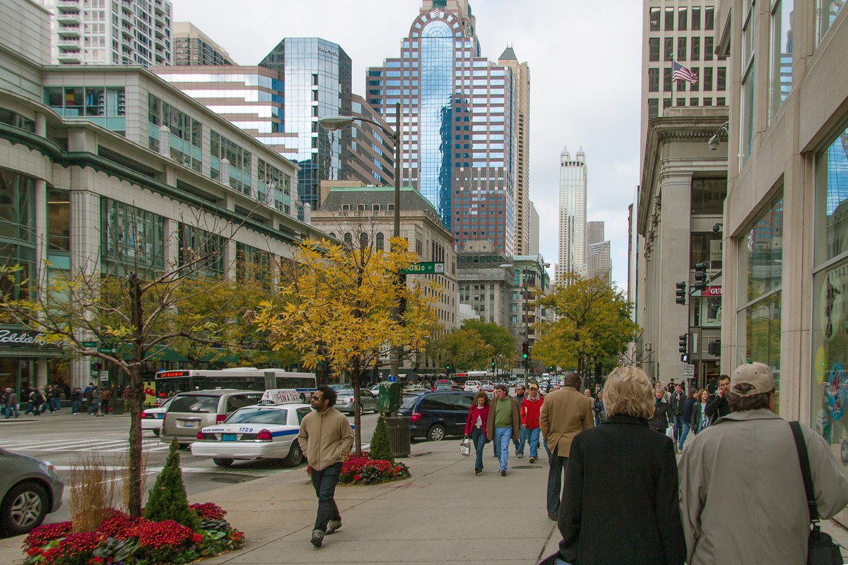 The downtown North Michigan Avenue district is where to head for the ultimate Christmas shopping spree in Chicago. Check off your gift list — and treat yourself .