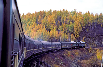 trans siberian train journey from moscow vladivostok