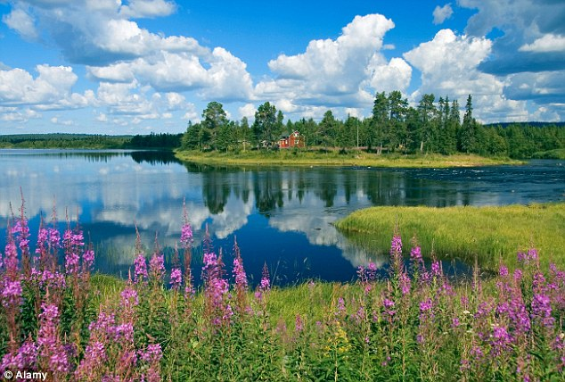 A Man Made Dam In Finland Europe 33